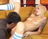 Emma Mae seducing by jerking