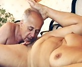 Hot mature blonde having fun and horny